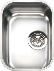Smeg Sinks 1.0 Bowl Oval Stainless Steel Undermount Kitchen Sink. 300mm.