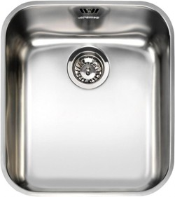 Alba Undermount Kitchen Sink 340x400mm (S Steel). Smeg Sinks SM-UM40