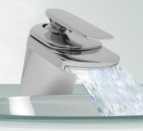 Specials Aqua 5 Waterfall Basin mixer tap + Free click clack slotted waste.