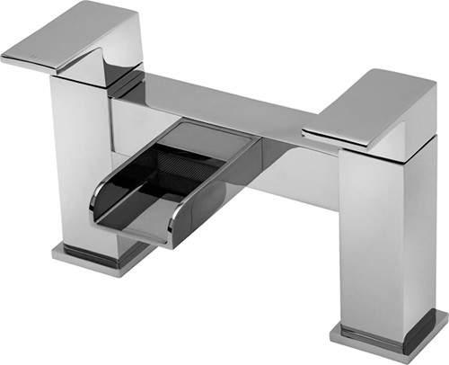 Tre Mercati Geysir Waterfall Bath Filler Tap (Chrome).
