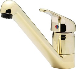 Tre Mercati Kitchen Modena Dual Flow Kitchen Tap (Gold).