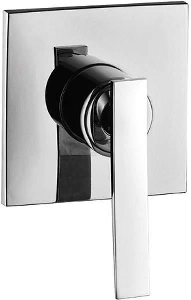 Tre Mercati Dance Concealed Manual Shower Valve (Chrome).
