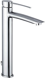 Tre Mercati Bella Extended Mono Basin Mixer Tap (Chrome).