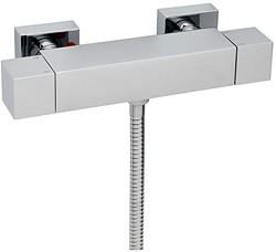 Tre Mercati Geysir Thermostatic Bar Shower Valve (Chrome).