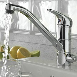 Tre Mercati Kitchen Technic Kitchen Tap With Built In Filter (Chrome).