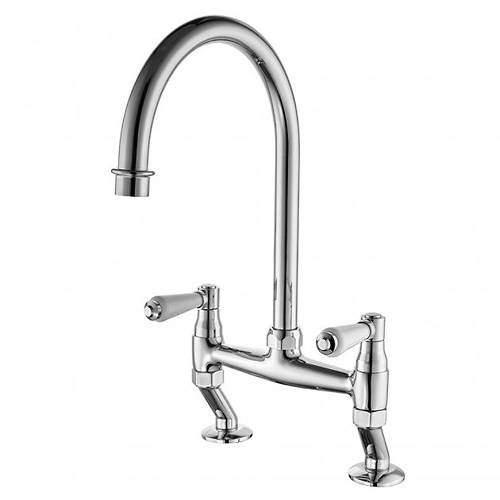 Tre Mercati Kitchen Series 900 Dual Flow Kitchen Tap (Chrome).