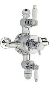 Ultra Showers Triple Exposed Thermostatic Shower Valve (Chrome).