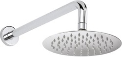 Hudson Reed Showers Round Shower Head With Arm (200mm).