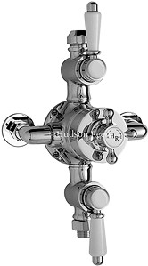 Hudson Reed Traditional Traditional Triple Exposed Thermostatic Shower Valve.