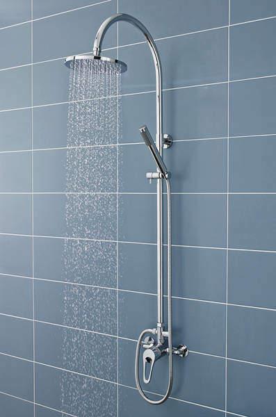 Ultra Showers Ocean Manual Exposed Shower Valve & Zephyr Kit.