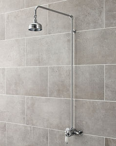 Ultra Showers Traditional Sequential Thermostatic Shower Valve & Riser Kit.