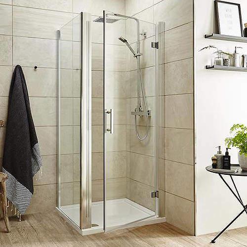 Premier Enclosures Shower Enclosure With Hinged Door (700x1000).