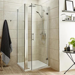 Premier Enclosures Shower Enclosure With Hinged Door (900x900).