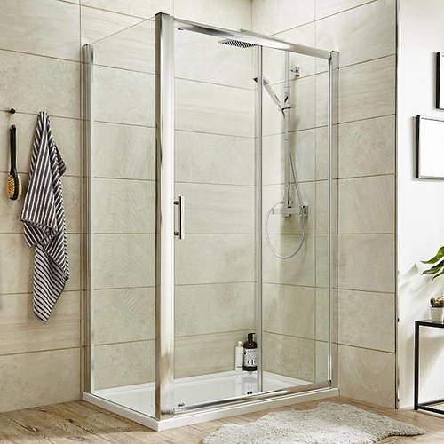 Premier Enclosures Shower Enclosure With Sliding Door (1000x1000).
