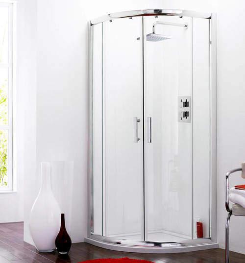 Premier Enclosures Quadrant Shower Enclosure (900mm).