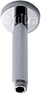 Component Ceiling Mounting Shower Arm (150mm, Chrome).