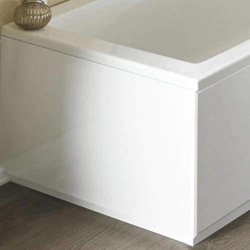 Crown Bath Panels End Bath Panel (High Gloss White, 700mm).