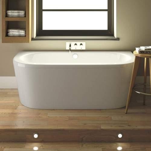 Premier Baths Shingle BTW Bath With Panel. 800x1700mm.
