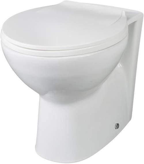 Premier Brisbane Back To Wall Toilet Pan & Soft Close Seat.