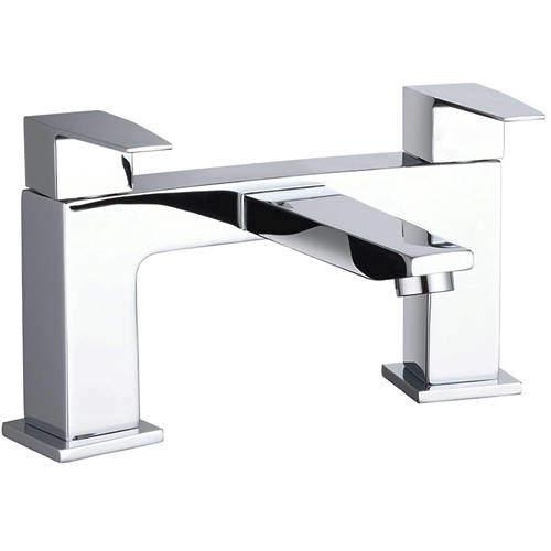 Hudson Reed Camber Designer Bath Filler Tap (Chrome).
