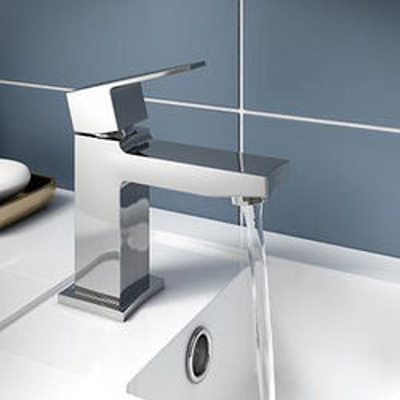 Hudson Reed Camber Designer Basin Mixer Tap (Chrome).