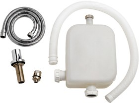 Ultra Specialist Deck Shower Kit With Hose Retainer (Chrome).