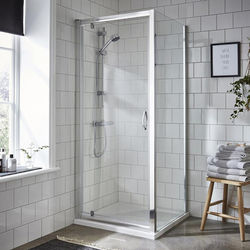 Premier Enclosures Shower Enclosure With Pivot Door (900x700mm).