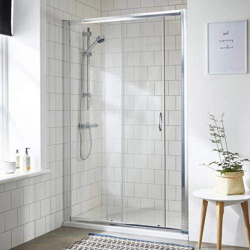 Premier Enclosures Sliding Shower Door (1000mm).