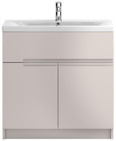 HR Urban Floor Standing 800mm Vanity Unit & Basin Type 2 (Cashmere).