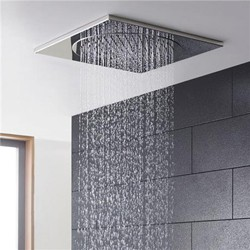 Hudson Reed Showers Square Ceiling Tile Fixed Shower Head. 370x370mm.