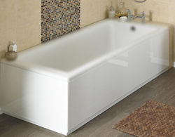 Crown Bath Panels Side & End Bath Panel Pack (Gloss White, 1700x750).