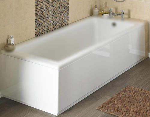 Crown Bath Panels Side & End Bath Panel Pack (Gloss White, 1700x800).