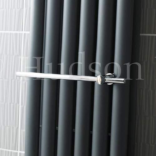 Hudson Reed Radiators Towel Rail For Bathroom Radiators (Chrome).