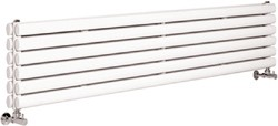 Hudson Reed Radiators Revive Radiator (White). 1800x354mm. 5964 BTU.