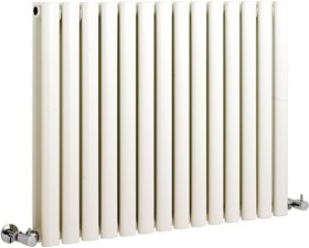 Hudson Reed Radiators Revive white radiator size 633 x 826mm. 5418 BTU