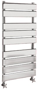 Hudson Reed Radiators Heated Towel Rail (Chrome). 500x950mm. 1078 BTU.