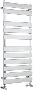 Hudson Reed Radiators Heated Towel Rail (Chrome). 500x1200mm. 1582 BTU.