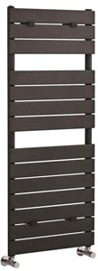Hudson Reed Flat Panel Towel Radiator. 1213x500 (Anthracite).