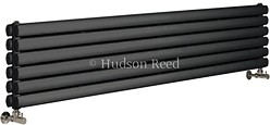 Hudson Reed Radiators Revive Radiator (Anthracite). 1500x354mm. 4708 BTU.