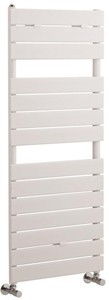 Hudson Reed Flat Panel Towel Radiator. 1213x500 (White).