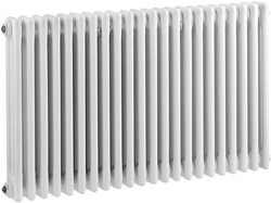 Ultra Colosseum 3 Column Radiator (White). 1011x600mm.