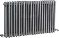 Ultra Colosseum Triple Column Radiator (Silver). 1011x600mm.