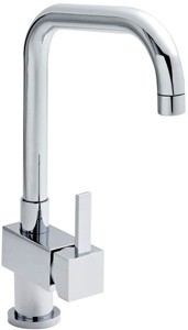 Premier Kitchen Kitchen Tap With Single Lever Side Action Control (Chrome).