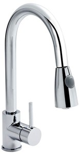Premier Kitchen Pull Out Spray Kitchen Tap (Chrome).