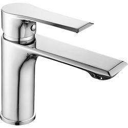 Nuie Limit Basin Mixer Tap With Push Button Waste (Chrome).