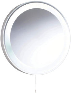 Hudson Reed Mirrors Verdi Backlit Bathroom Mirror. 550mm Diameter.