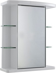 Ultra Cabinets Verve Mirror Bathroom Cabinet. 530x670x255mm.