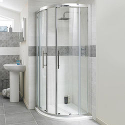 Apex Quadrant Shower Enclosure With 8mm Glass 1000mm