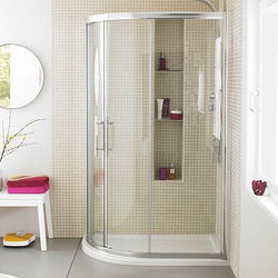Apex Offset Quadrant Shower Enclosure 1000x800mm