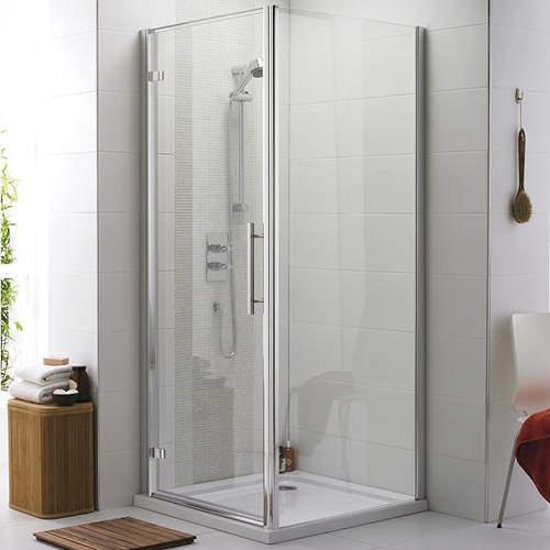 Premier Enclosures Apex Shower Enclosure With 8mm Glass (900x900mm).